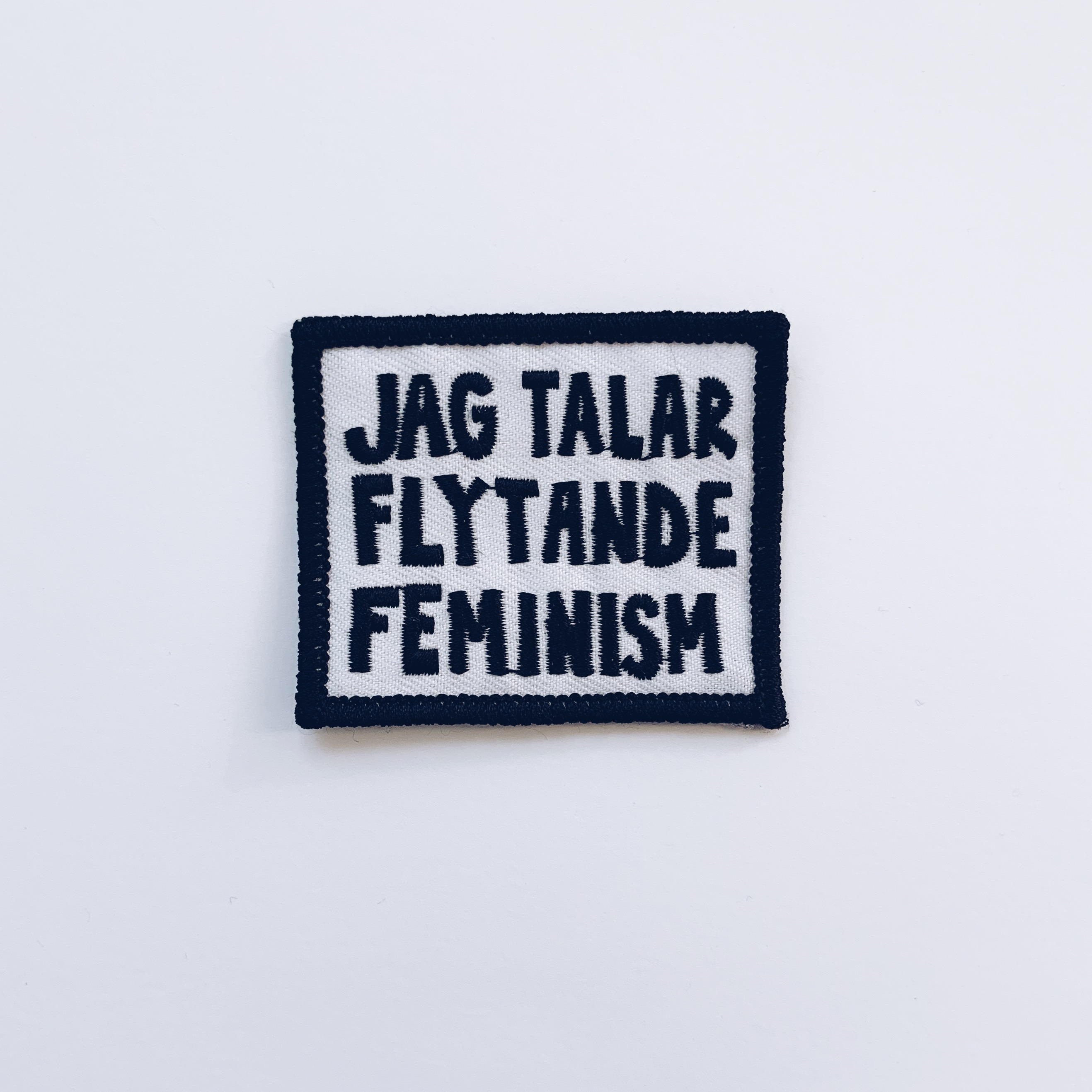 Tygmärke - Jag talar flytande feminism