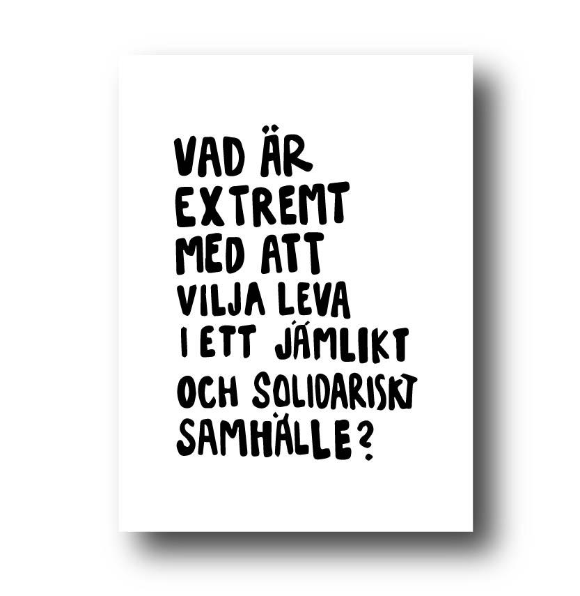 Poster - Vad är extremt med