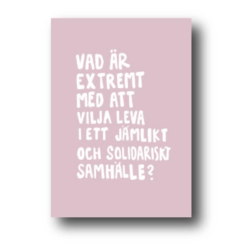 Rosa Poster - Vad är extremt
