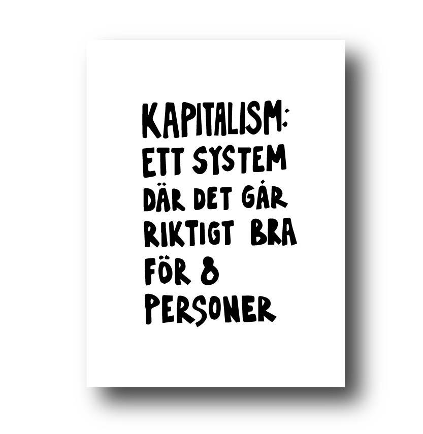 Poster - Kapitalism
