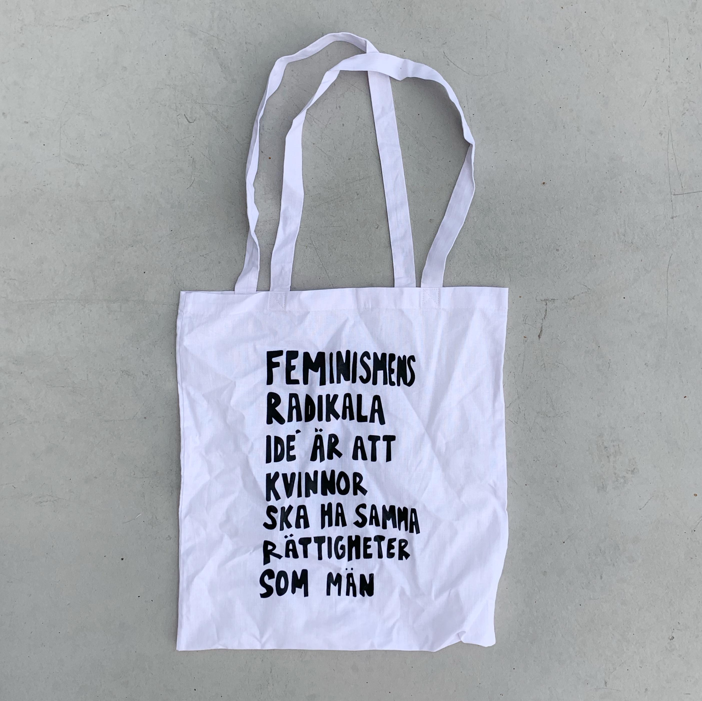 Vit tygkasse - Feminismens radikala...