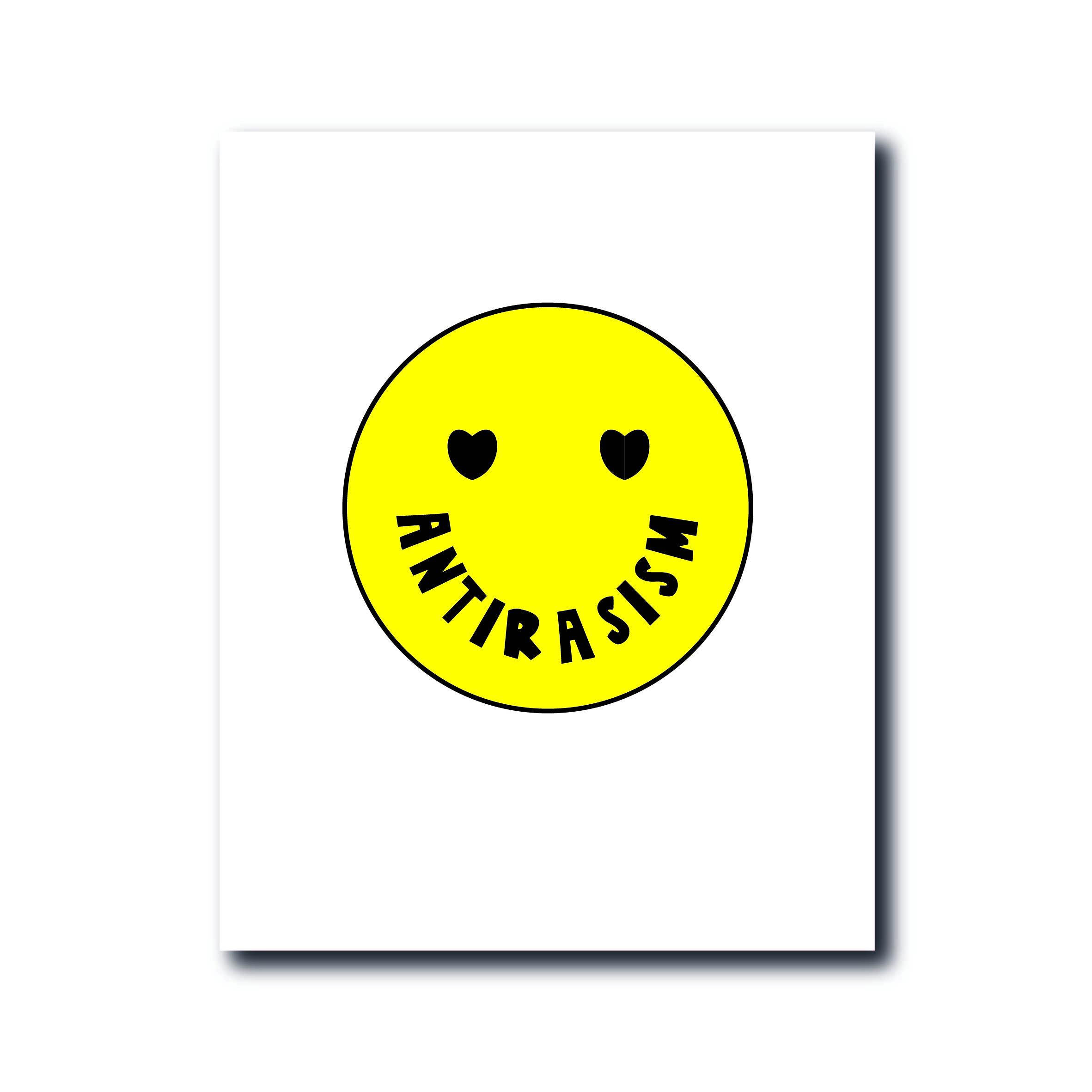 Smiley - Antirasism