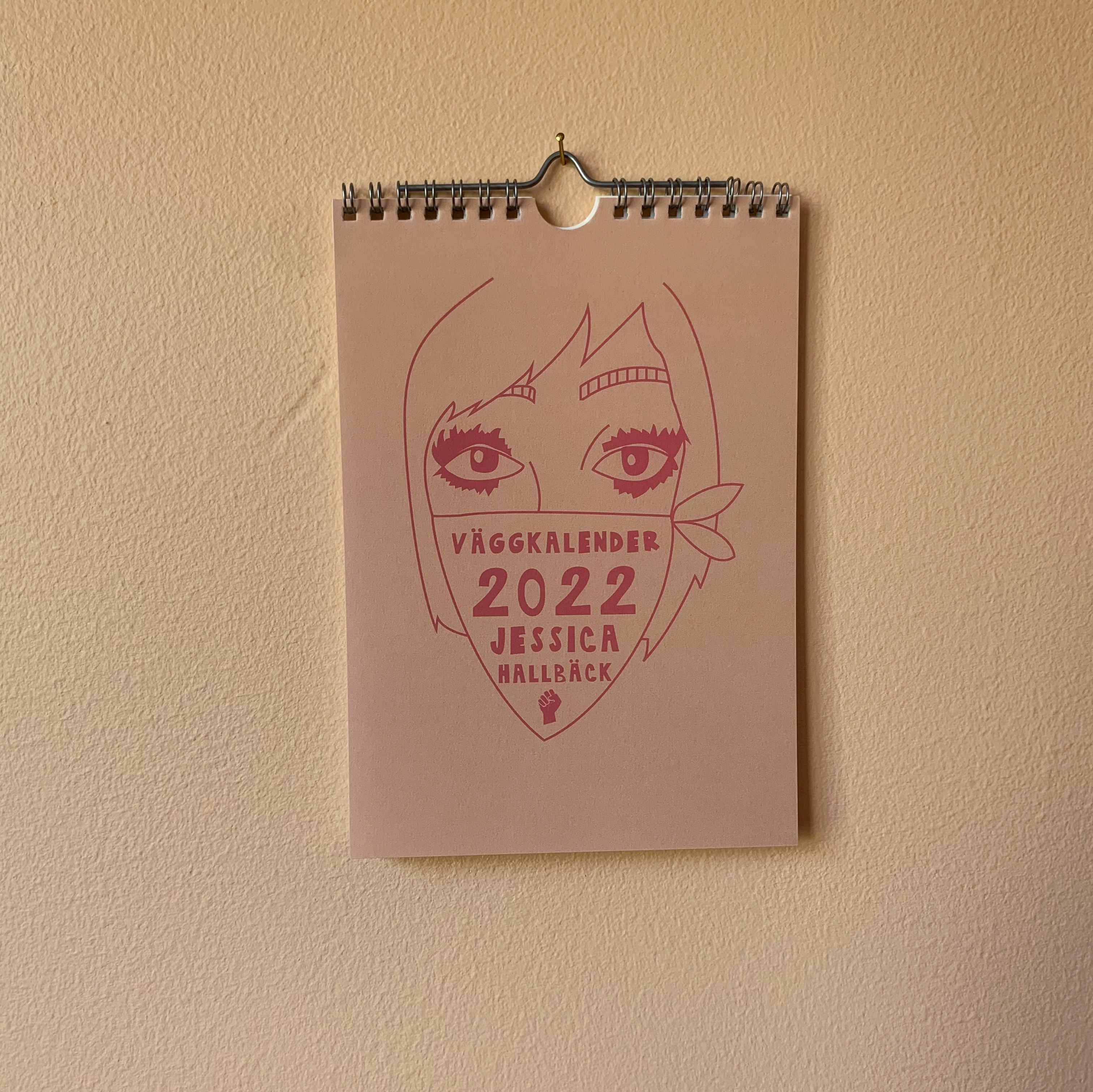 Väggkalender 2022 (färg)